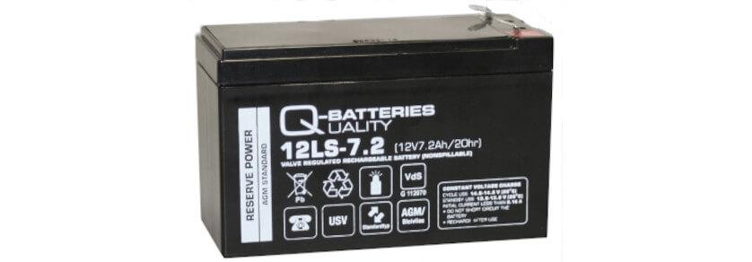 Q-Batteries Akkus Standard