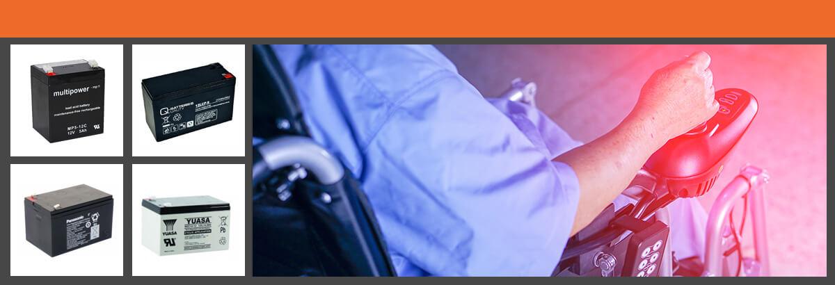 Rollstuhl Akkus