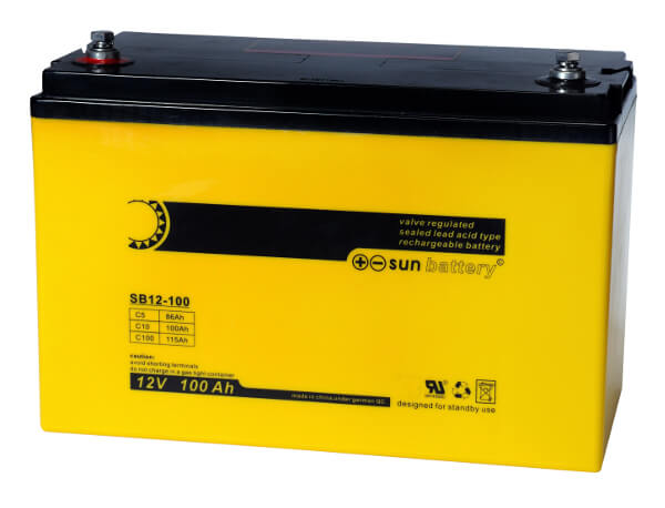 Sun Battery SB12-100 12V 100Ah Bleiakku