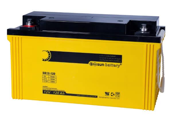 Sun Battery SB12-120 12V 120Ah Bleiakku