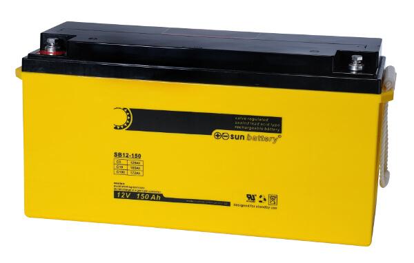Sun Battery SB12-150 12V 150Ah Bleiakku