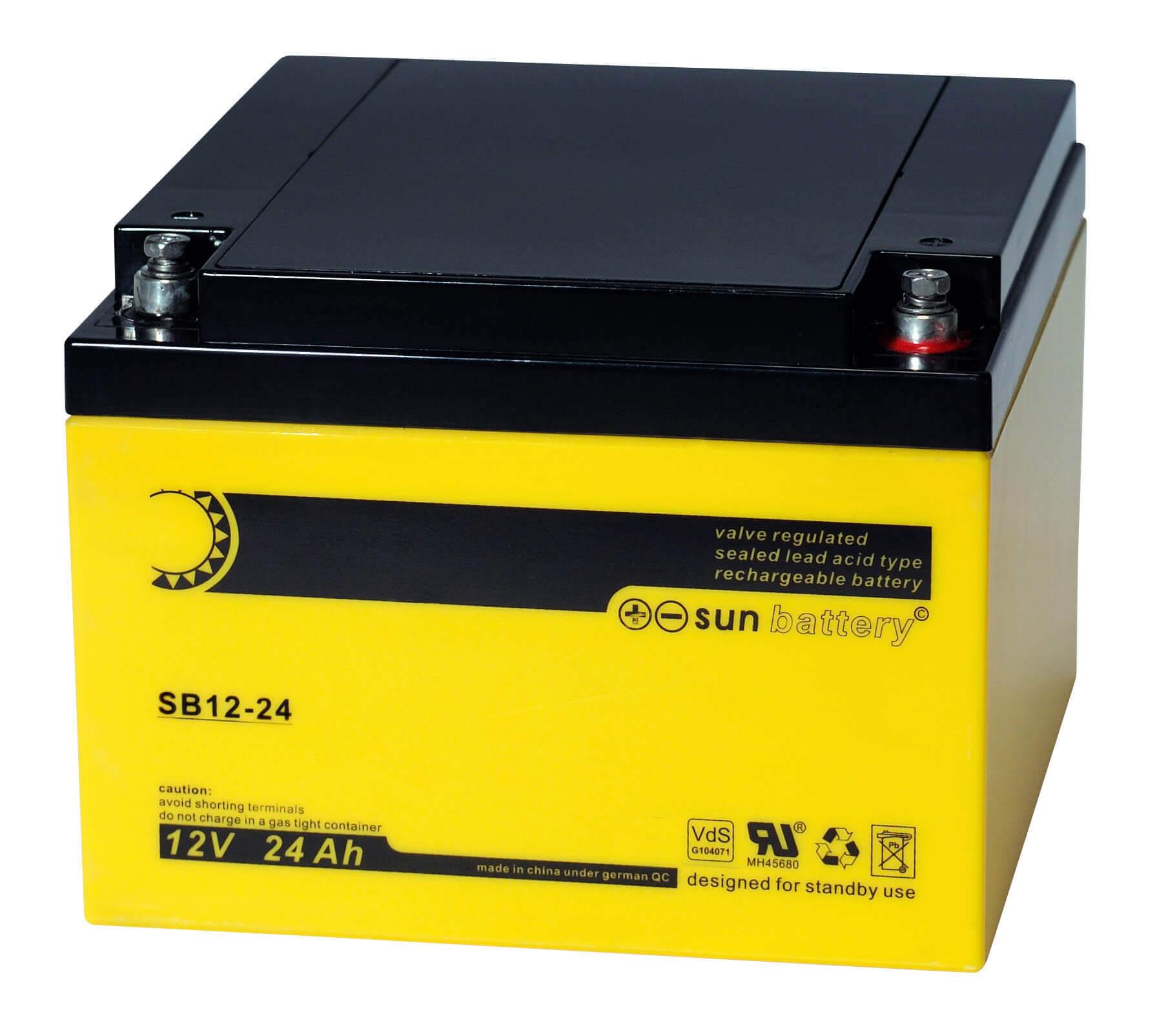Sun Battery SB12-24 12V 26Ah Bleiakku