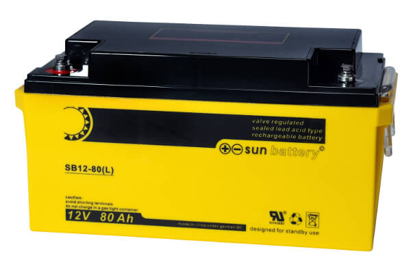 Sun Battery SB12-80L 12V 80Ah Bleiakku
