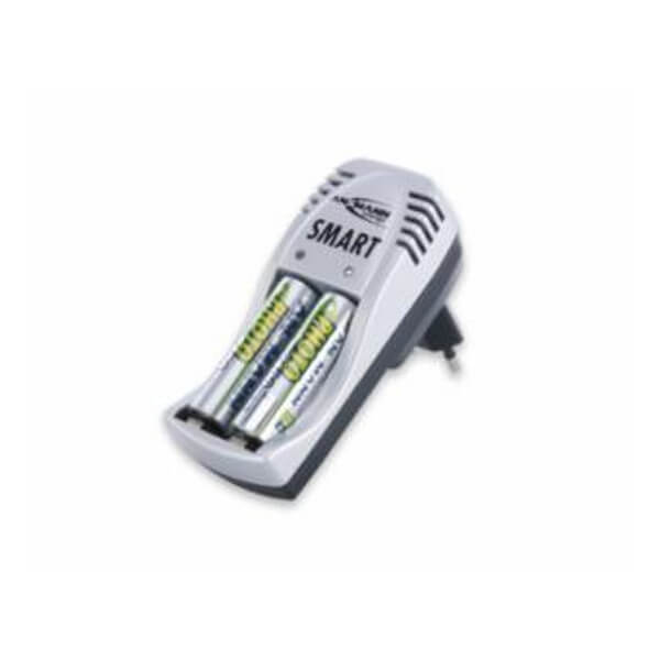 Ansmann Ladegerät Smart Set für NiMH / NiCd Mignon AA und Micro AAA Akkus