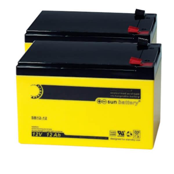 Batteriesatz für APC RBC6 (sun battery)