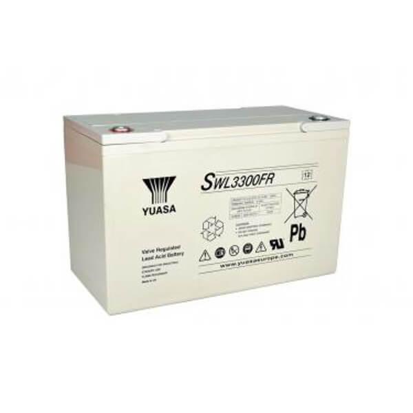 Yuasa SWL3300FR 12V 110,2Ah Blei-Akku / AGM Batterie