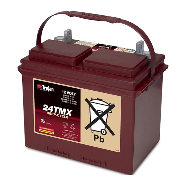 Trojan 24TMX 12V 85Ah Deep Cycle Batterie