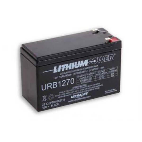 Ultralife URB1270 Lithium Batterie Akku - 12V 7,5Ah