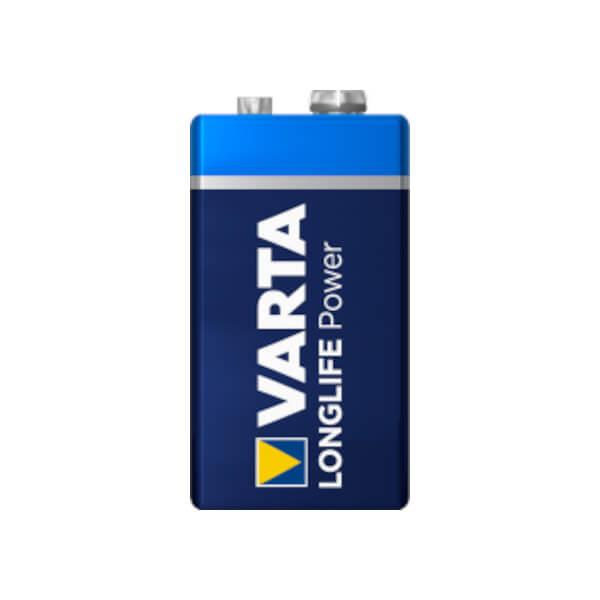 Varta Longlife Power E-Block  / 6LR61 | 9,0V Batterie 580mAh