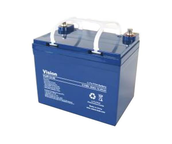 VISION LFP1240 LiFePo4  Lithium Akku - 12V 40Ah