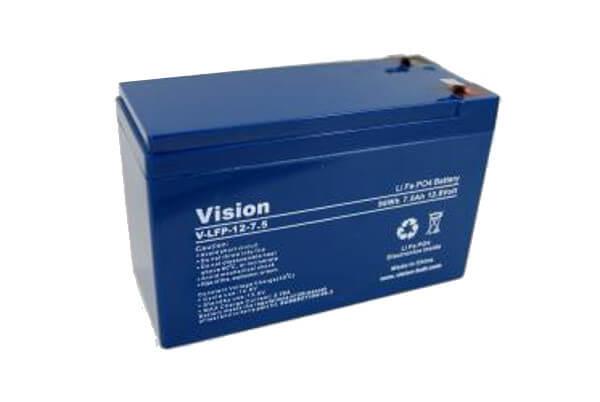 VISION LFP127.5 LiFePo4  Lithium Akku - 12V 7,5Ah