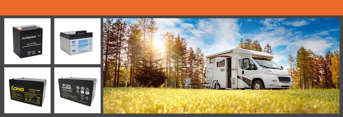 Camping / Caravan Akkus