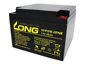 Kung Long WP26-12NE 12V 26Ah Blei-Akku / AGM Batterie Zyklenfest