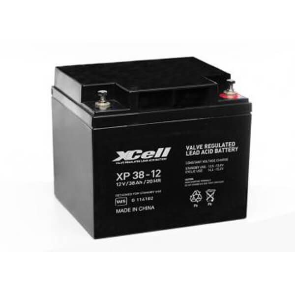 XCell XP 38-12 AGM Bleiakkku 12V 38Ah VdS